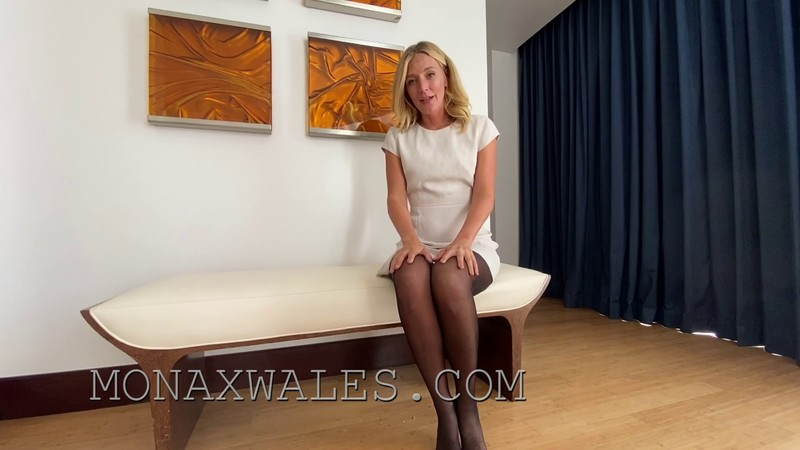 Mona Wales - Jerk Off to Mommy's Butthole [FullHD 1080P]