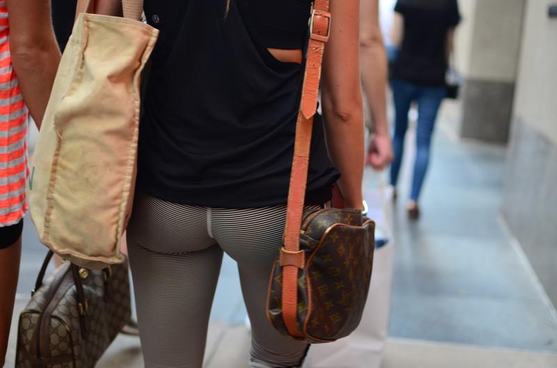 sweet college ass in carpi leggings