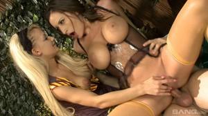 Sensual Jane, Charley Green, Louise Muirhead, Nina Leigh - Harry Pornter sc3