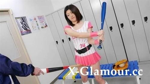Baseball Fan Kiara Minami Has A Coach That Helps Get Her Body Ready For Play [FullHD]