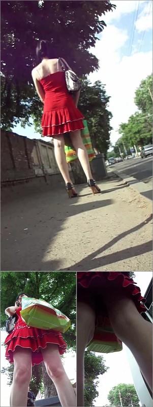 Upskirt No Panties 4142