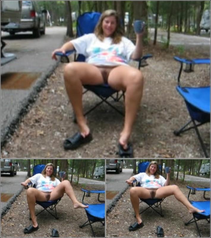 Upskirt No Panties 4199