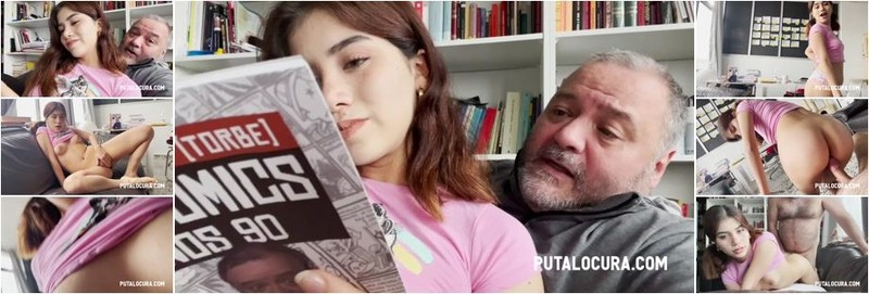 Marina Gold - SHE LOVES READ BOOKS AND FUCK (HD)