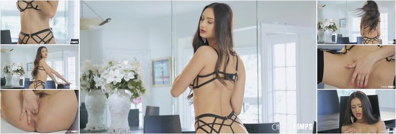 Eliza Ibarra - Showing It All In Her Strappy Lingerie (HD)