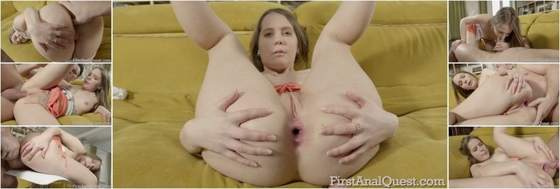 Stacy Si - Cute girl Stacy Si tries her first anal sex! (FullHD)