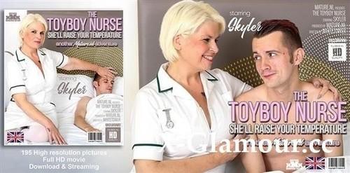 Skyler - Mature Nurse Skyler Loves To Fix Up Horny Toyboys (FullHD)