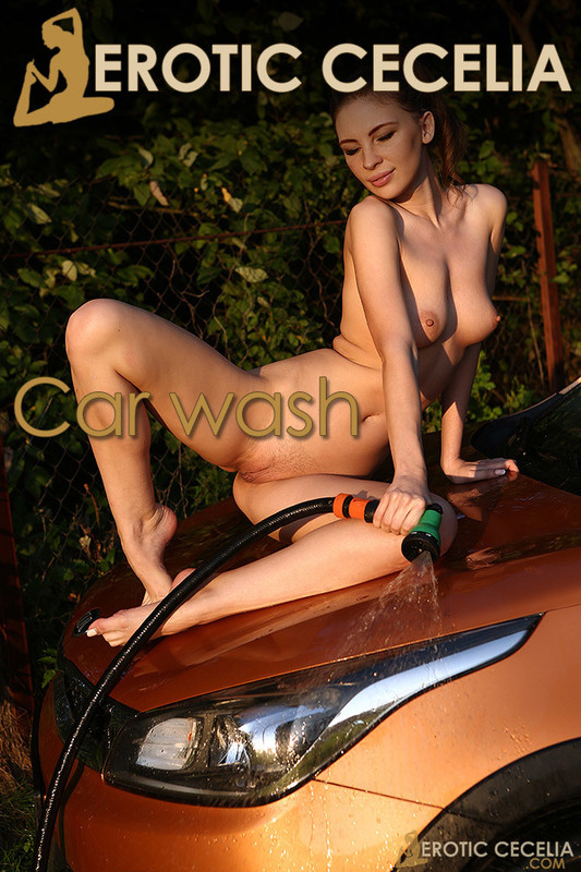 EroticCecelia Cecelia - Car Wash