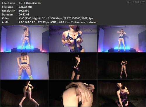 FETI-166 Provocation Vulgar Anal Bare Dance sc2