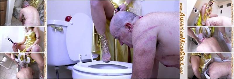 Princess Amber - Tongue Fuck My Toilet Clean (FullHD)