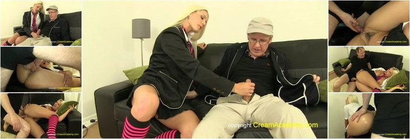 Blanche Bradburry - Blanche in schoolie outfit creampied (FullHD)