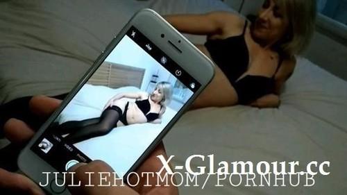 Juliehotmom - Best Stepmom Asks Her Son To Make Cum By All Her Holes - Juliehotmom (FullHD)
