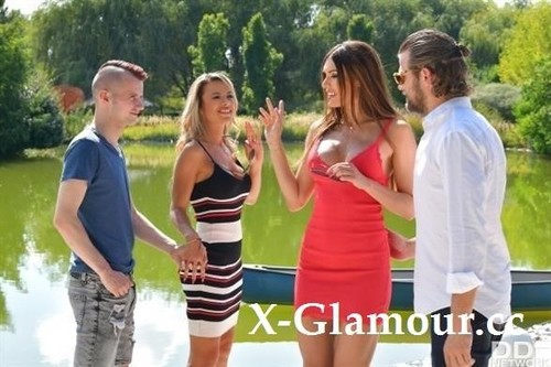 Shalina Devine, Kitana Lure - Risque Romanian And Russian Cougars Seduce Young Dudes (2021/SD)