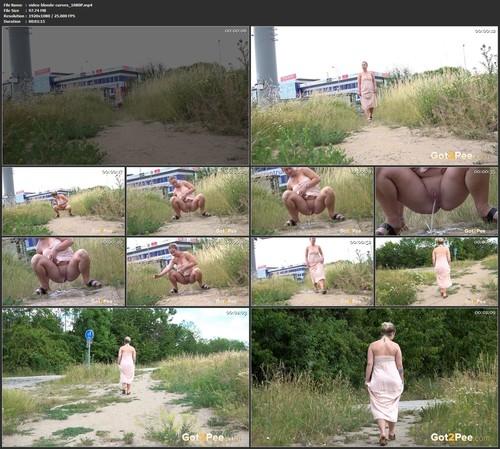 Video Blonde Curves 1080p