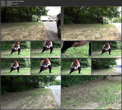 Video Bursting In Public 1080p