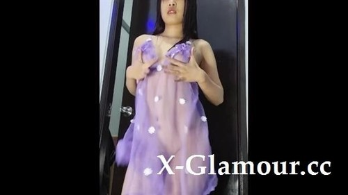 Mia Mendoza Php - 4K Pinay Filipina Babe Cumming With A Vibrator And A Huge Dildo (SD)