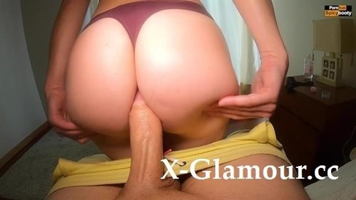 Pawg Trying Sexy Panties While Giving Handjob [FullHD]
