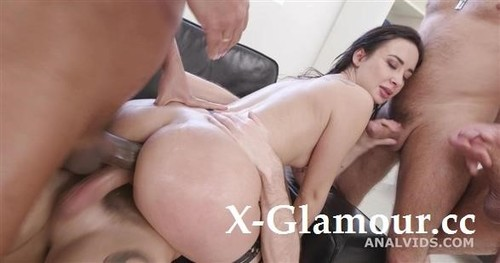 Freya Dee - 4On1 Balls Deep Anal, First Buttrose,Dap, Pee Drink And Creampiee To Swallow Gio1722 [SD/480p]