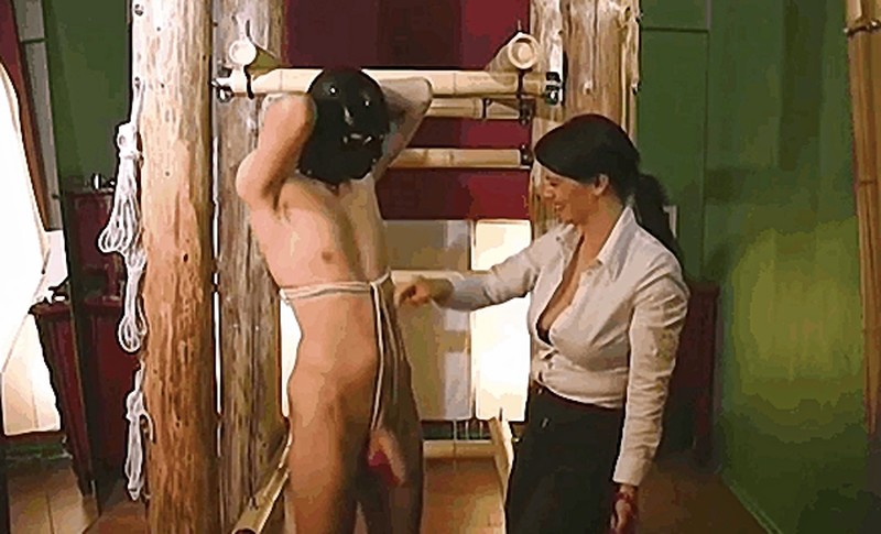 Lady Isis - Ropes and weights [FullHD 1080P]