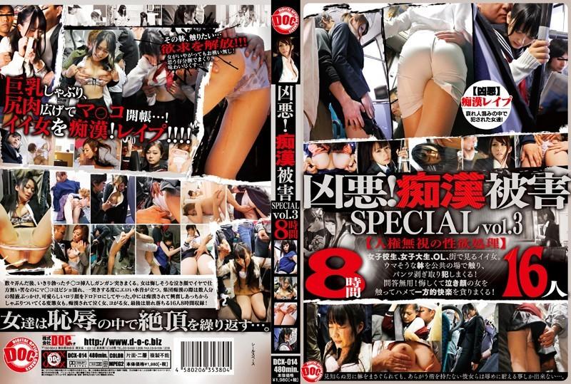 DCX-014 凶悪!痴漢被害 SPECIAL vol.3