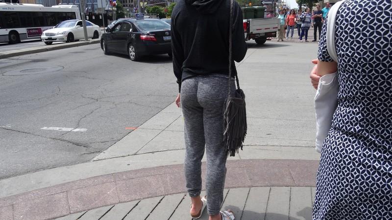 lovely butt in sweatpants
