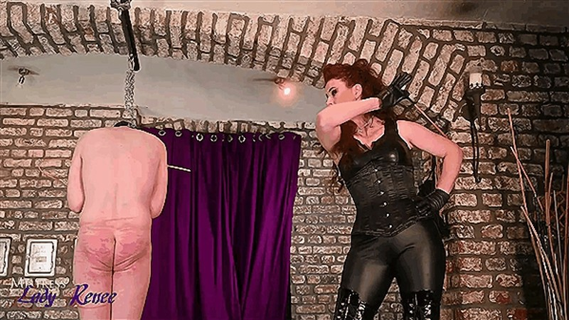 Mistress Lady Renee - A long caning [HD 810P]