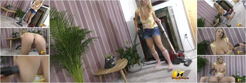 Katerina Hartlova, Katarina Dubrova - Vacuuming floor and my Boobs and Pussy suck (FullHD)