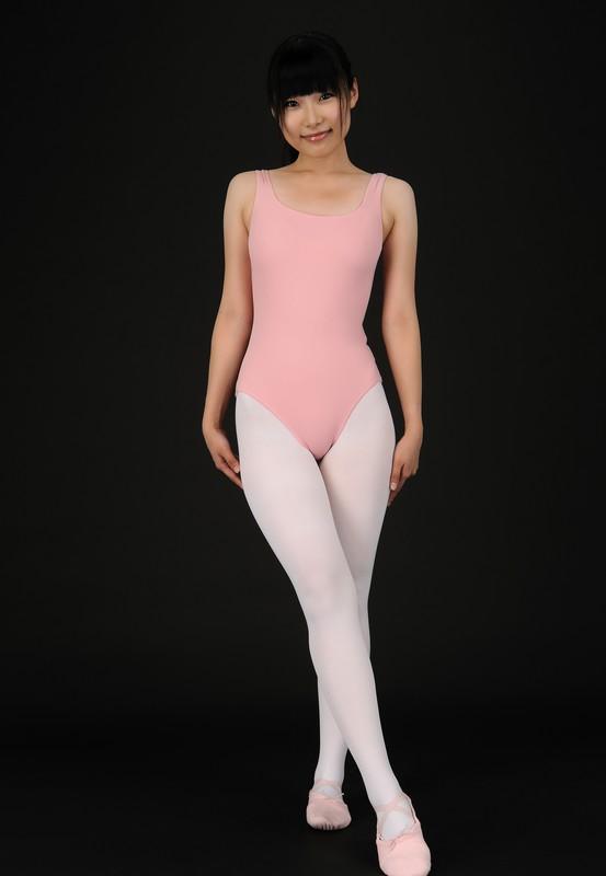 japan ballerina Asuka Ichinose leotards & pantyhose album
