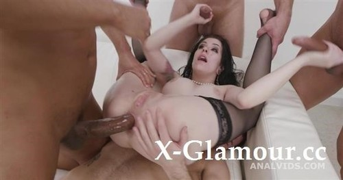 Messy Fantasy With Balls Deep Anal, Dap, Gapes, Buttrose And Anal Creampie Gio1750 [HD]