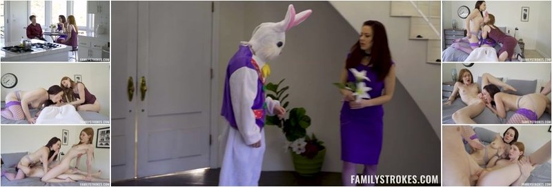 Jessica Ryan, Jane Rogers - Seducing The Easter Bunny (HD)