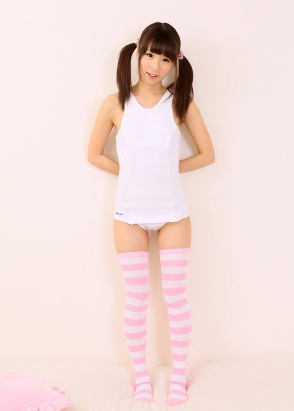 japan teen Mikuru Roromiya swimsuit & stockings album
