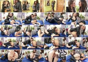 [LeatherChronicle.com/SinDrive.com] Misha Cross, Samia Duarte - We Leather Up! (Leather Lesbos Go Boss Hog With Rim Jobs, Beyond) (Download: Flashbit | Cloudfile)