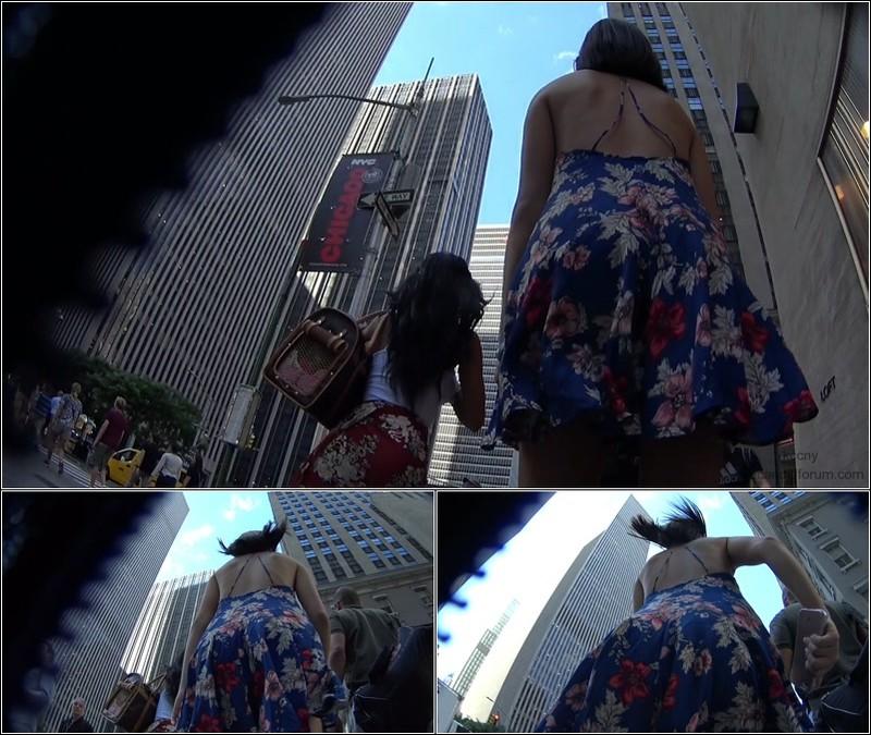 Upskirt No Panties  4551