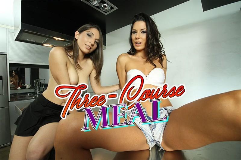 Three Course Meal Alexa Tomas And Jimena Lago Gearvr