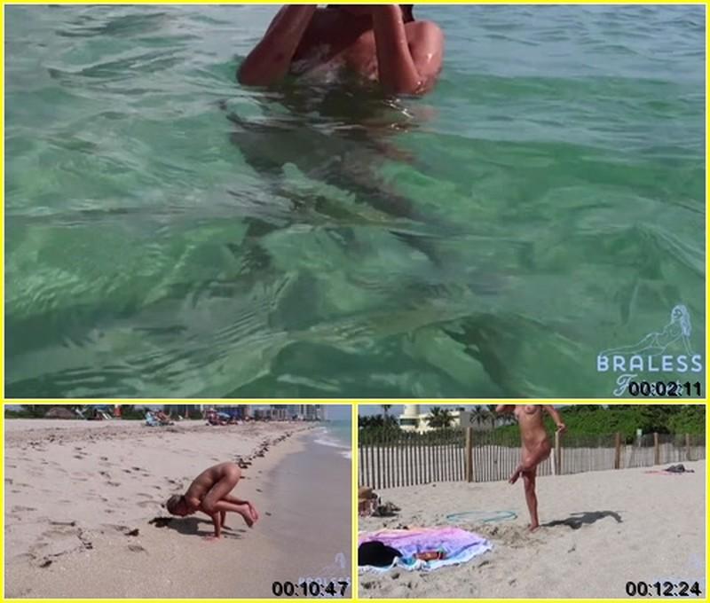Madisyn - Naked Beach Yoga