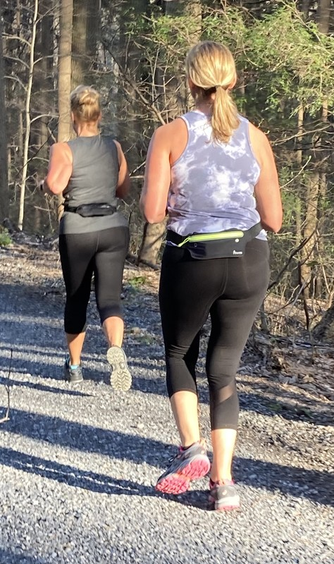 park joggers in sexy leggings
