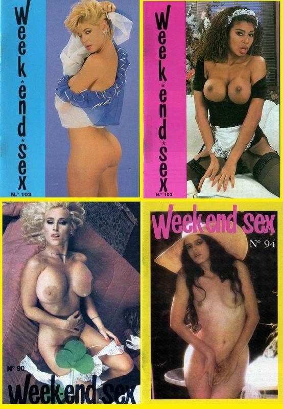 6 Magazines - Week-end Sex (1980s) JPG
