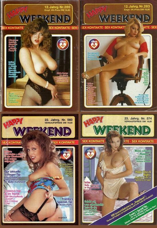 5 Magazines - Happy Weekend (1970s) JPG