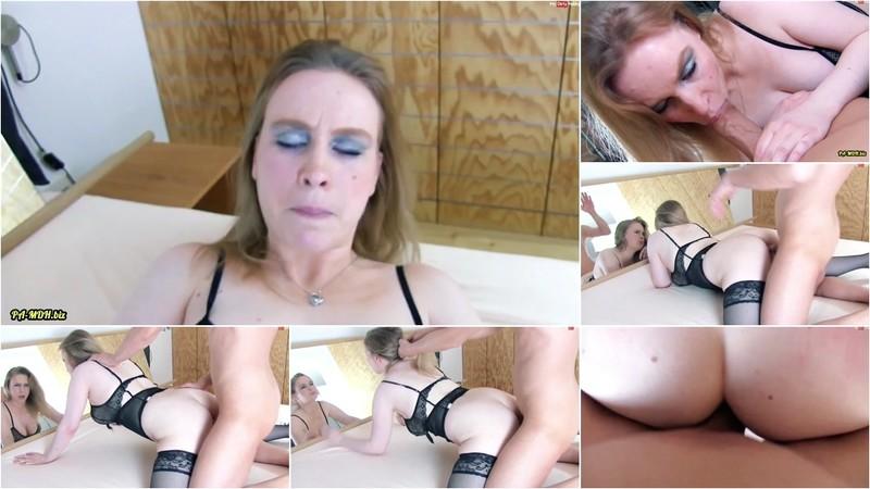 unfassbar-ich - Porno Casting - Marise Bennet - XXL-Schwanz Test [FullHD 1080P]