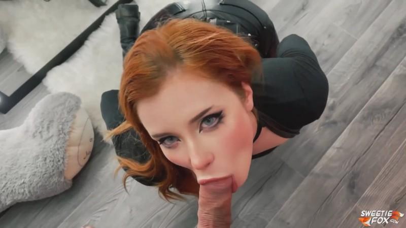 Sweetie Fox - Gothic Girl Deep Sucking, Doggy Fucking [FullHD 1080P]