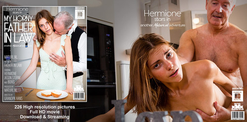 MatureNL – Hermione Teeny Hermione Getting Fucked By Her Father In Law [FullHD 1080p]