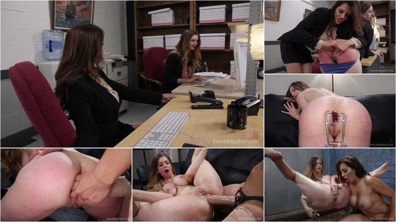 Stella Cox, Francesca Le - From Knife Sales to Phone Sex Stella Cox knows how to please customers [HD 720p]