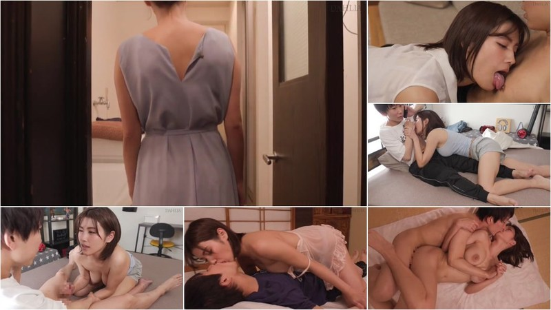 Mino Suzume - Showing Off Cleavage and Seducing With Gaze [HD 720p]
