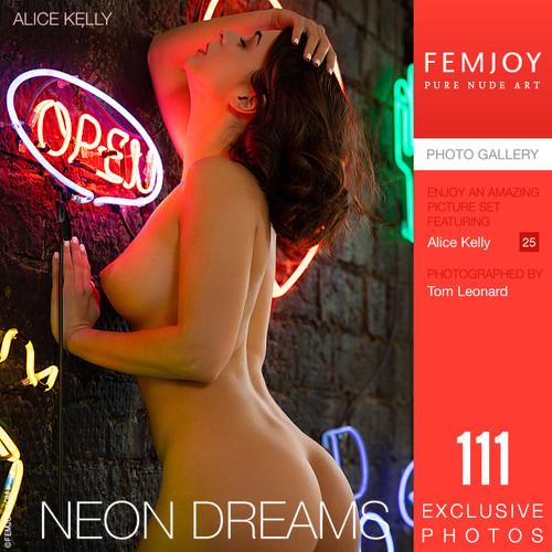 Alice Kelly in Neon Dreams (2021-10-24)